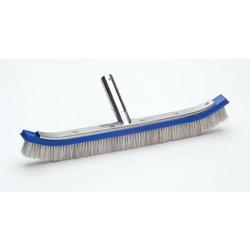 Ocean Blue 18in Aluminum Back Brush