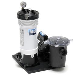 Waterway Above Ground Filter System TWM-30 Cartridge w/ Trap