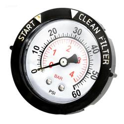 Pentair Pool Products Gauge, Pressure 1/4