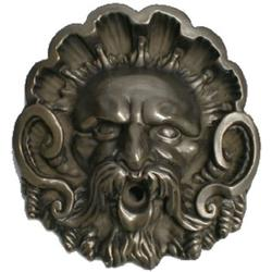 Pentair WallSpring Figurehead Neptune Gray