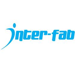 Inter-Fab Wild Ride Pool Slide Lower Left Runway logo