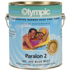 Olympic Paralon 2 White Rubber Base Enamel