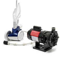 380 Pressure Side Automatic Pool Cleaner and PB-4 60 Booster Pump