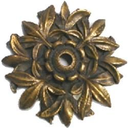 Pentair WallSpring Rosette Circle/Leaves Gray