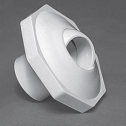 "Waterway Econ Insider 1"" Inlet Slip Rtn Fitting - White"