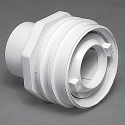 "Waterway Flush Mount Return Fitting 1"" S Assembly - Bone"
