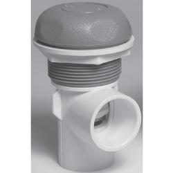 Waterway On/Off Turn Valve Assembly - Single Port - Gray