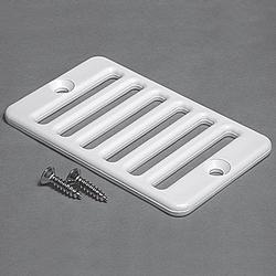 "Waterway 2"" x 4"" Deck Gutter Drain Grate"