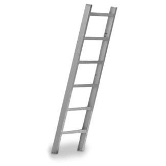 Inter-Fab City 2 Ladder WHT