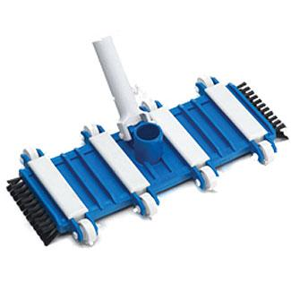 Ocean Blue Flexible Vacuum Head with Side Brushes