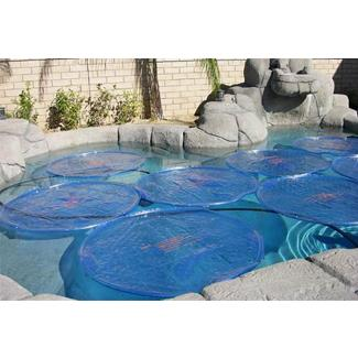 Solar Sun Rings SSR-ANCHOR15B Solid Blue Only with Water Anchors 15 Pack