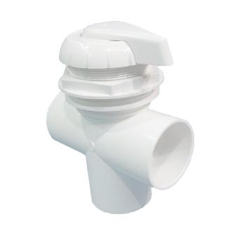 HYDRO AIR VALVE 2 3 WAY WHITE