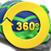 Polaris 65 Turbo Turtle Pool Cleaner - 360 Degree View