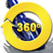 Kreepy Krauly Kruiser Pool Cleaner - 360 Degree View