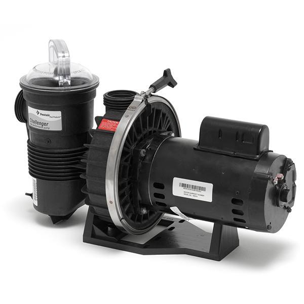 Pentair 345300 Challenger 5HP High Flow Pool Pump