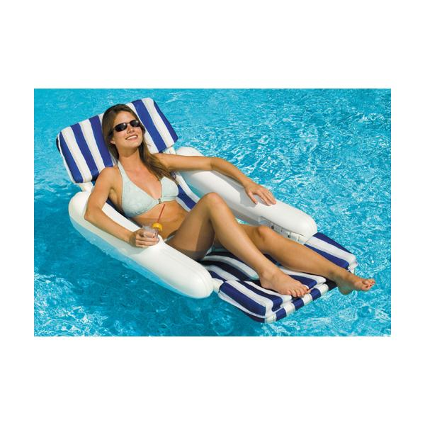 Floating Lounge Chair and Pad
