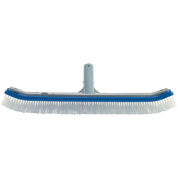 Ocean Blue Curved Wall Brush with Aluminum