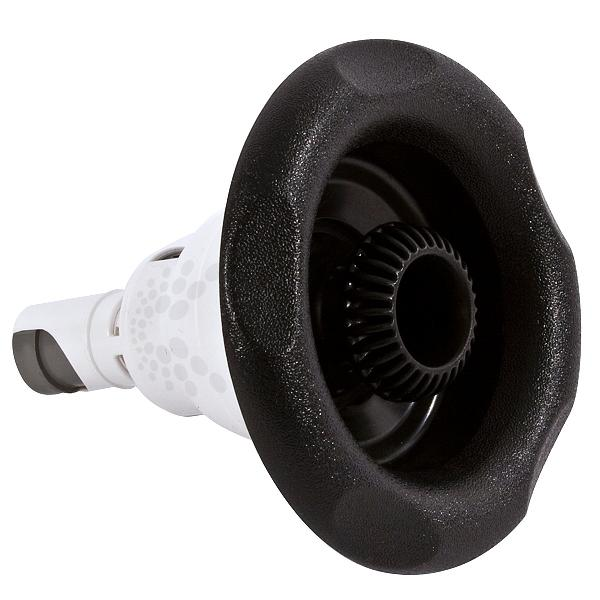 Waterway Gunite 5-Scallop Directional Power Storm Jet Internals - Black