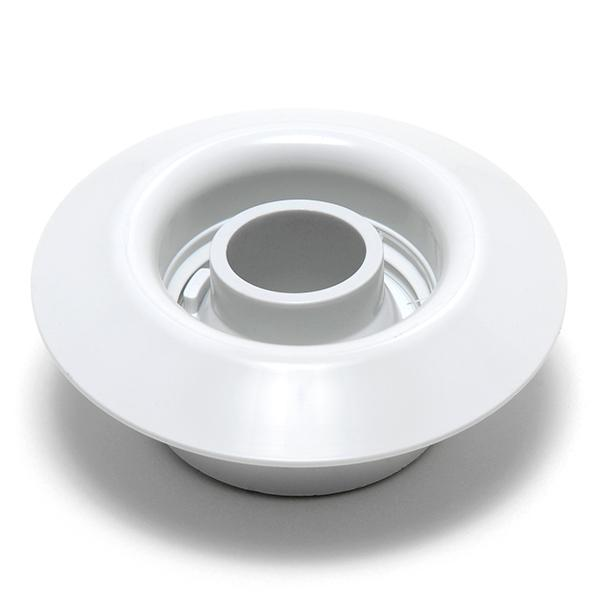 Balboa Extended Venturi Tee Wall Fitting Assembly - White