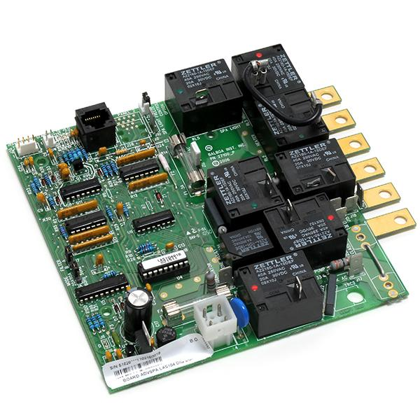 Balboa Advanced LA Spas Digital Duplex Circuit Board 104 - 51628