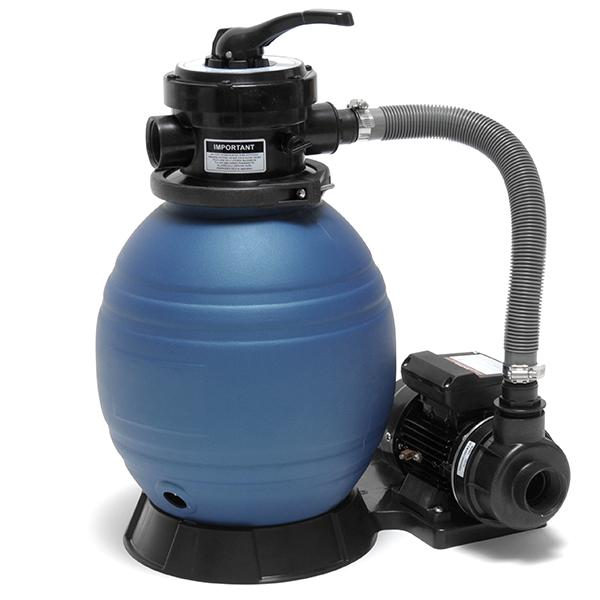 how to start up a sand pool filter