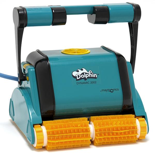 Dolphin Dynamic 2002 Robotic Pool Cleaner with Caddy