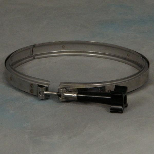 Stainless Steel Band Clamp Low Profile 1-1/2