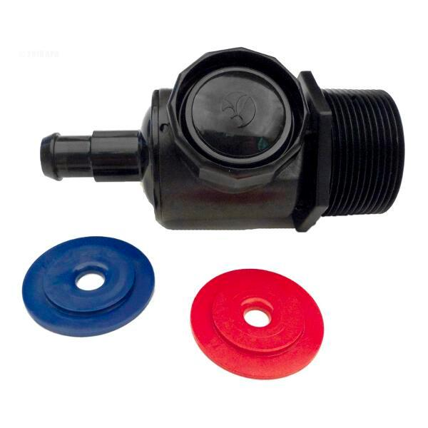Polaris 280/380 Pool Cleaner Universal Wall Fitting Connector Assembly - Black