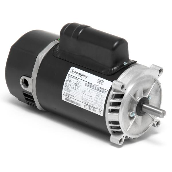 SNTech Motors C1095 Dyna-Tech 56C 1 HP Full Rated Pool & Spa Pump Motor
