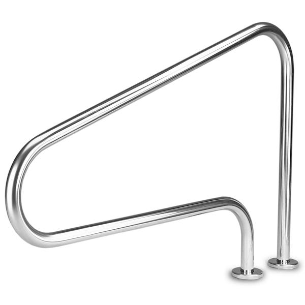Inter-Fab 3 Bend Stair Rail