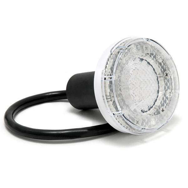 Treo 5W Underwater White LED Pool Light Assembly with 150' Low Voltage Cord, 12V