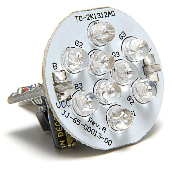 J&J ColorGlo Sparkler 9 LED Bulb Spa Light LSL9-1