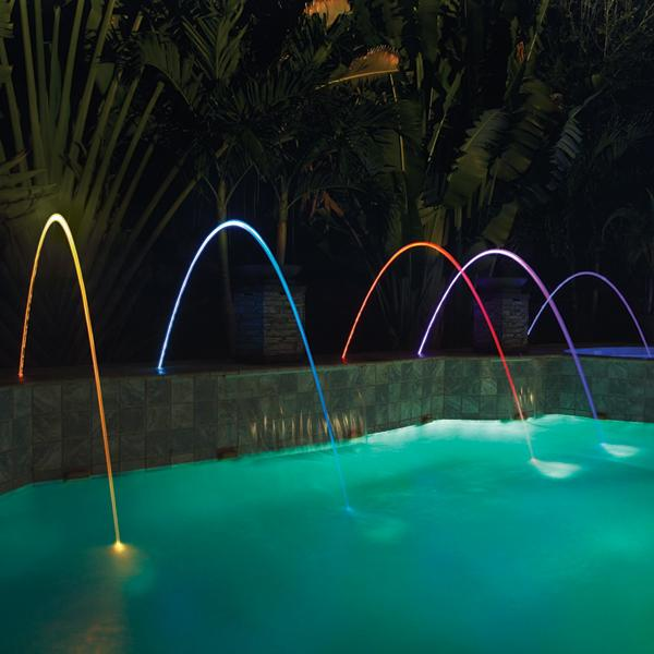 Pentair 580001t Magicstream Laminar Led Tan Lid Water Feature