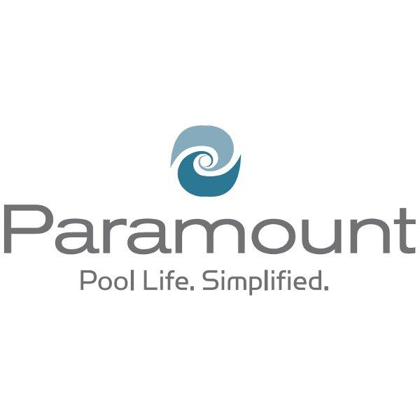 SDX Drain Cover w/ Screws Black - Paramount Logo