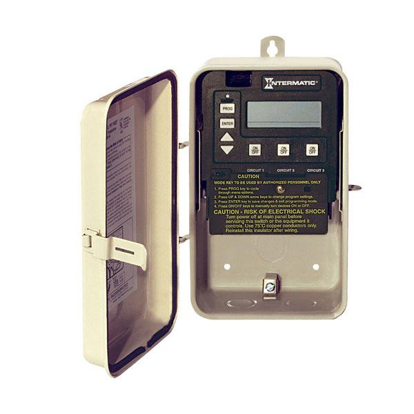 Digital Time Clock in Metal Enclosure