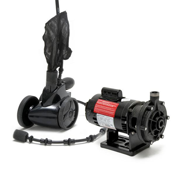 Polaris 380 BlackMax Pool Cleaner and Booster Pump