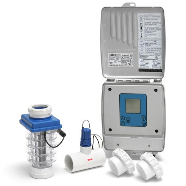 Saltron CLG62A Pure Breeze Salt Chlorination System Kit for Pools up to 20,000 Gallons