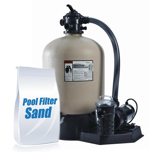 Pentair Pnsd0040de1160 S Sand Dollar Sd40 Sand Filter System With 1hp Dynamo Above Ground Pool