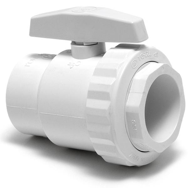 Trimline 2-Port Ball Valve PVC
