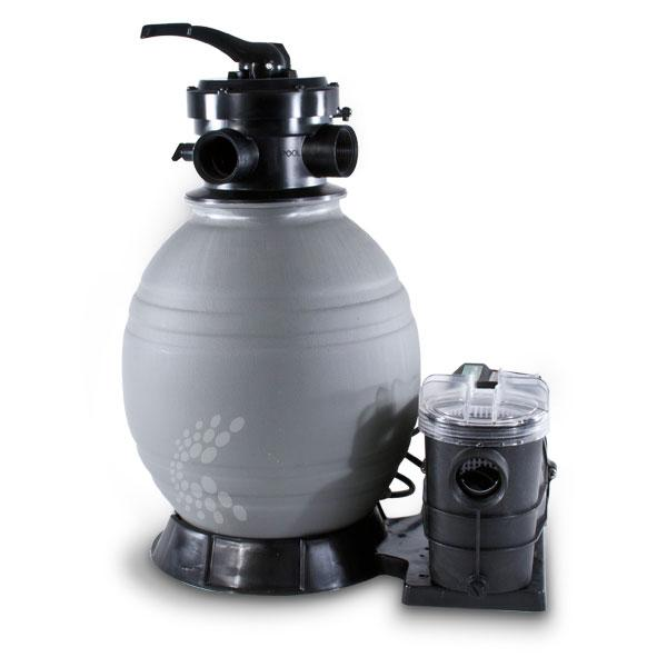 Splash Deluxe Above Ground Sand Filter System
