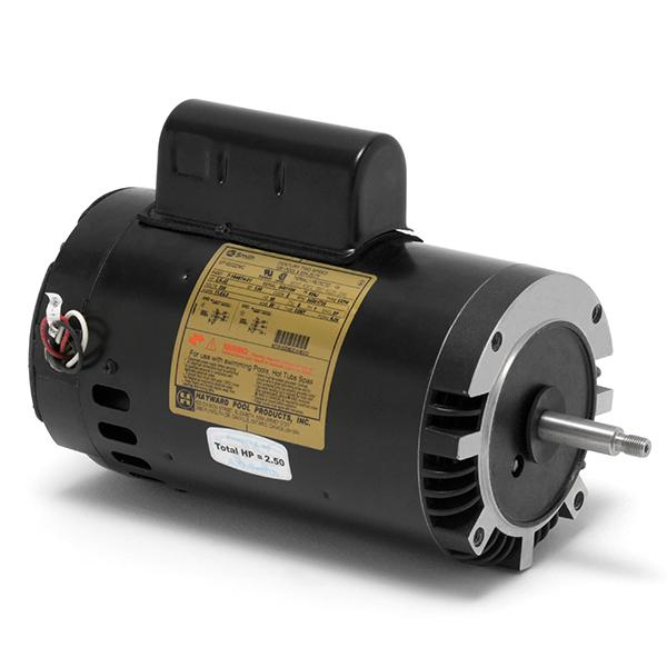 Spx1620z2mns hayward motor 2 1 2 hp 2 speed up rated for Hayward 1 1 2 hp pool pump motor