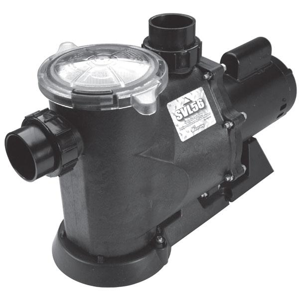 Waterway SVL56 1-1/2HP Pump
