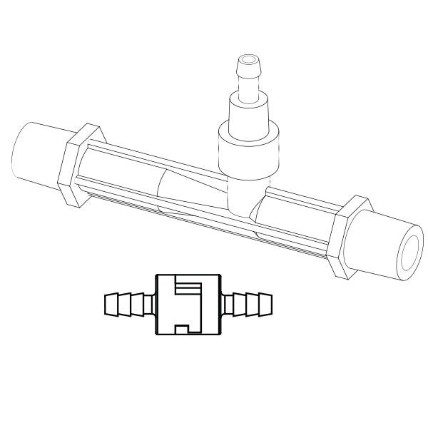 Clear O3 Venturi Injector Kit