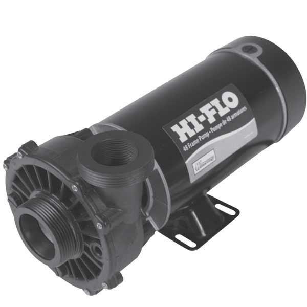 Waterway HI-FLO Side Discharge 1HP Pump