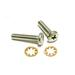 Polaris Pool Cleaner Screw #10-32 x 7/8 in. Stainless Steel Pan Head with Star Washer