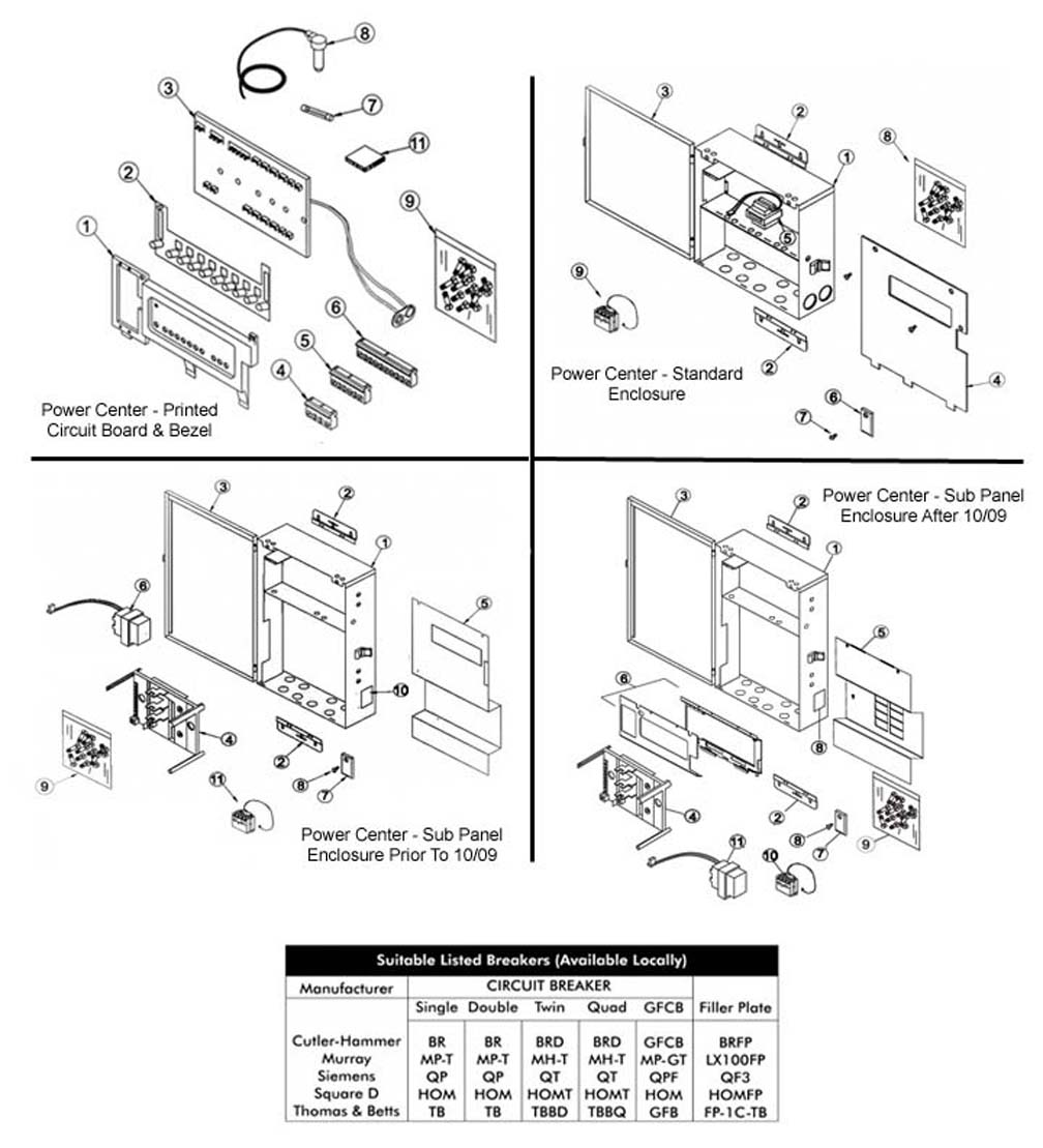 aqualink_power_centers jandy aqualink control panel wiring diagram wiring diagram  at gsmportal.co