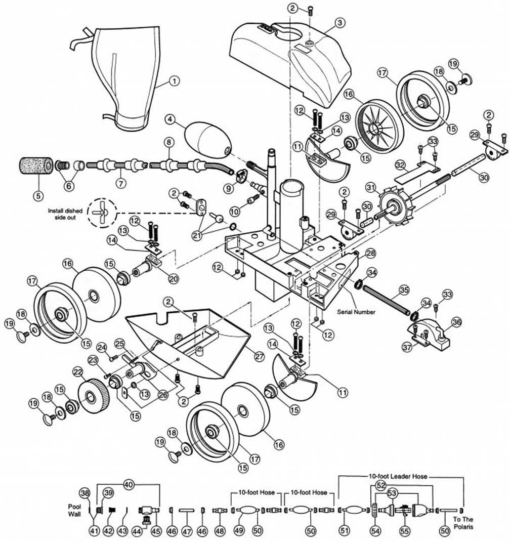 schematic for polaris 280 pool cleaner polaris automatic