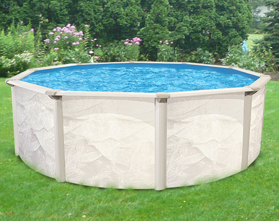 Above ground swimming pools for Best looking above ground pools