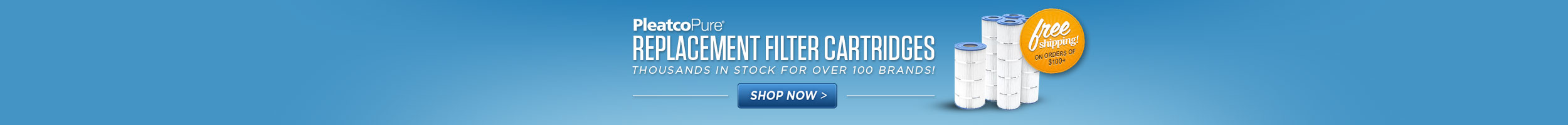 Pleatco Replacement Filter Cartridges