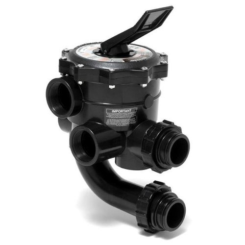 Hayward Pool Valve Plumbing : Hayward sp xr pro grid in fip vari flo multiport de